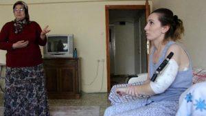 Boşanma davası açtığı eşinin saldırısına uğrayan kadın: Adalete güveniyorum