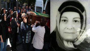 Zonguldak'ta oğulları tarafından öldürülen kadının cenazesi