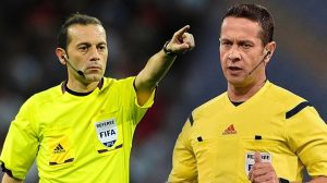 UEFA'dan Cüneyt Çakır ve Halis Özkahya'ya görev