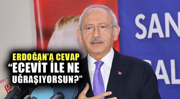 """Kemal Kılıçdaroğlu'ndan Erdoğan'a çok sert """"Ecevit"""" yanıtı!"""
