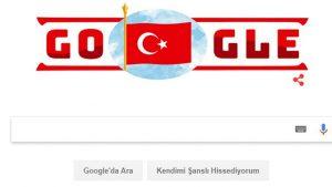 Google 29 Ekim Cumhuriyet Bayramı'nı unutmadı