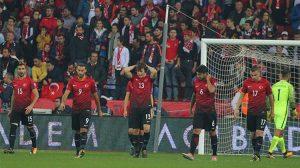 Türkiye, 2018 Dünya Kupası'na katılma şansını yitirdi