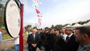 CHP'li Karşıyaka Belediyesi Yarbay Songül Yakut'un adını ölümsüzleştirdi