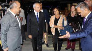 Kemal Kılıçdaroğlu oğlunun yemin töreni için Sivas'a geldi