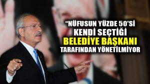 """Kılıçdaroğlu: """"Belediye başkanlarına şantajla, 'istifa edeceksin' diyorlar"""""""