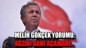 """Mansur Yavaş'tan Melih Gökçek'in istifasına ilişkin yorum: """"Ağzını dahi açamadı…"""""""