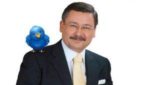 Melih Gökçek'ten istifa sonrası ilk tweet