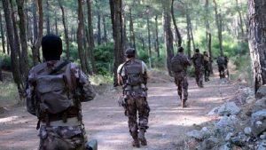 Köyceğiz'de5 PKK'lının öldürüldüğü operasyondan kaçan terörist yakalandı
