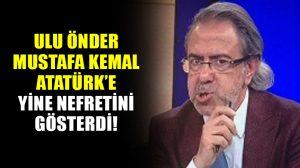 Atatürk düşmanı Mustafa Armağan, yine sahne aldı! Bu sefer de bu anketi başlattı!