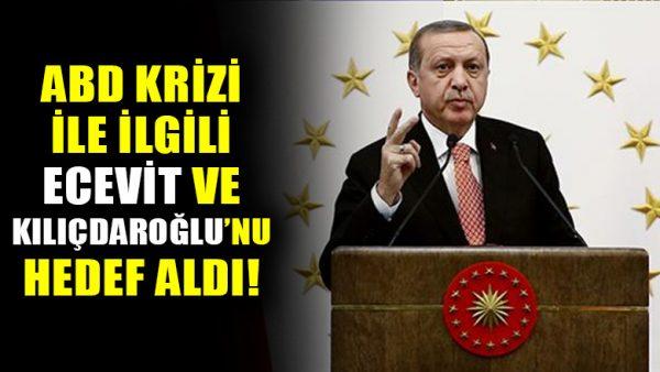 """Cumhurbaşkanı Erdoğan: """"Türkiye gibi bir stratejik ortak kendini bilmez bir büyükelçiye feda edilemez"""""""