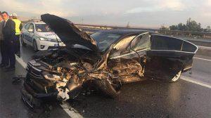 MHP Genel Başkan Yardımcısı Ruhsar Demirel kaza yaptı
