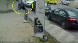 Kaldırımda yürüyen kadına vuran saldırgan yakalandı