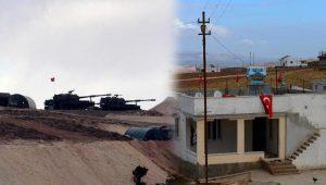 Çatışma çıkmıştı: Sınırdaki evlere Türk bayrağı asıldı