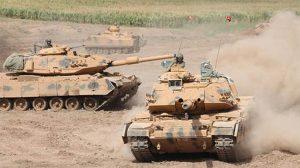 2. Ordu Komutanı İsmail Metin Temel sınırdaki tatbikata katıldı