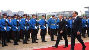Cumhurbaşkanı Erdoğan, Sırbistan Cumhurbaşkanı ile bir araya geldi