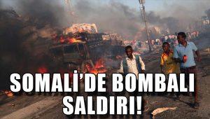 Somali'de patlama: Ölü sayısı 189'a yükseldi!