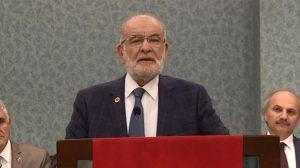 """Saadet Partisi Genel Başkanı Temel Karamollaoğlu'ndan vize krizi yorumu """"Tesadüf mü?"""""""