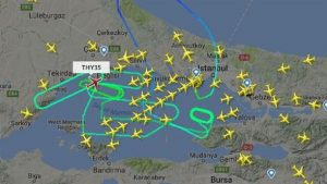 Yolcusu fenalaşan THY uçağı İstanbul üzerinde 7 saat 22 dakika turladıktan sonra inebildi