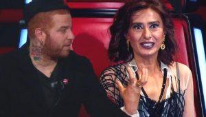O Ses Türkiye'de Yıldız Tilbe ile Gökhan Özoğuz arasında ırkçılık kavgası