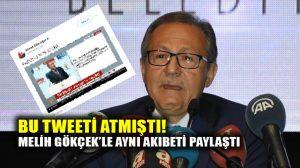 """Ahmet Edip Uğur bu tweeti paylaşmıştı: """"Raconu Reis keser"""""""