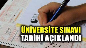 Üniversite için Yükseköğretim Kurumları Sınavı (YKS) 23-24 Haziran 2018 tarihlerinde yapılacak
