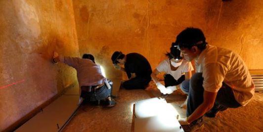 Keops piramidinde yeni oda bulundu