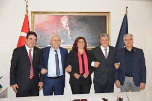 CHP'li Balbay ve Özkan'dan Başkan Çerçioğlu'na destek ziyareti
