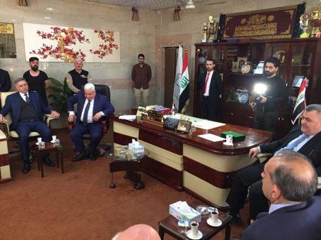 Irak Meclisi Türkmen Milletvekilleri Kerkük Üniversitesini ziyaret etti