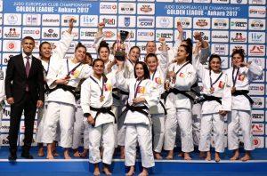 Galatasaray Judo şampiyonasında Avrupa üçüncüsü oldu!