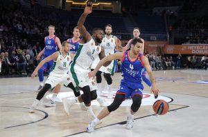 THY Euroleague'de Anadolu Efes, Panathinaikos'a 81:82 mağlup oldu