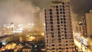 Batum'da Türk iş adamının otelinde yangın: 12 ölü