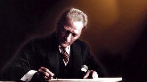 İşte ulu önder Mustafa Kemal Atatürk'ün kendi el yazısıyla vasiyeti