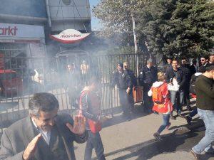 İstanbul'da işçilere sert müdahale! Bir anda sıktılar…