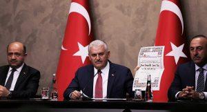 Başbakan Yıldırım, Cumhuriyet'e tazminat davası açtı