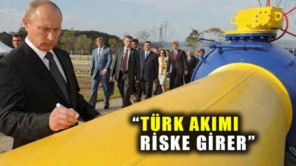 Rusya'dan flaş açıklama: ABD yaptırımı Türk Akımını riske sokar
