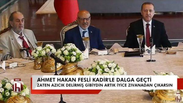 AKP'den Atatürk açılımı-7: Ahmet Hakan, Fesli Kadir ile dalga geçti