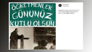 Futbol dünyasından öğretmenler günü mesajları; Alex de Souza öğretmenleri unutmadı