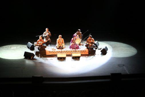 Muğam müziğinin ustası Alim Qasimov ve kızı Fargana Başakşehir'de sahne aldı