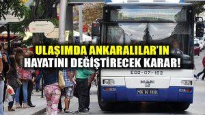 Ankara'da 24 saat kesintisiz ulaşım Cuma gününden itibaren başlıyor