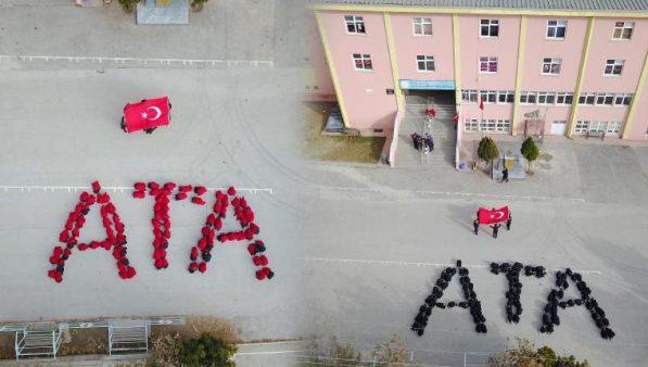 İlkokul öğrencilerinden muhteşem ATA koreografisi