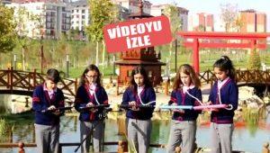 24 Kasım öncesi Aybüke Öğretmen için öğrencilerden klip