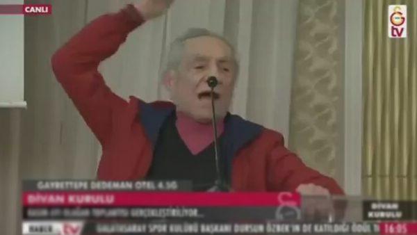 Aydemir Akbaş, Galatasaray Divan Kurulunda konuştu, olay oldu!