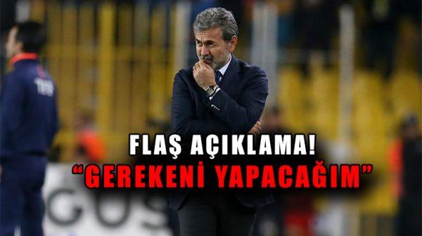 Fenerbahçe Teknik Direktörü Aykut Kocaman istifa mı edecek?