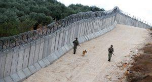 Sınırımızdaki duvardan son görüntü!