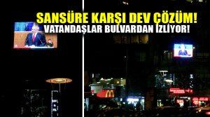 TRT yayını kesti, CHP Beşiktaş çözümü böyle buldu!