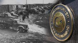 Dışişleri Bakanlığı, Ahıska Sürgünü'nün 73. yıl dönümünde mesaj yayınladı