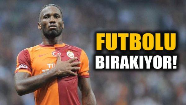 Didier Drogba futbolu bırakıyor!
