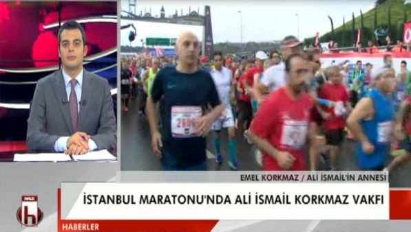 İstanbul Maratonu'nda Ali İsmail Korkmaz tişörtüne engelleme