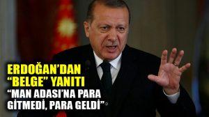 """Erdoğan'dan Kılıçdaroğlu'na """"belge"""" yanıtı"""
