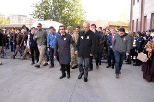 Diyarbakır şehidi Ahmet Alp Taşdemir, törenle memleketine uğurlandı